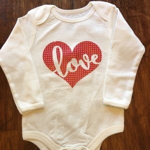 Other - ❤️ LOVE Onesie 6-12 mo ❤️